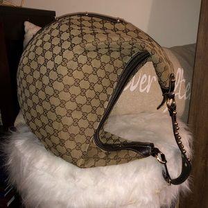 Gucci Guccissima Hobo Monogram GG Lg Leather Hobo